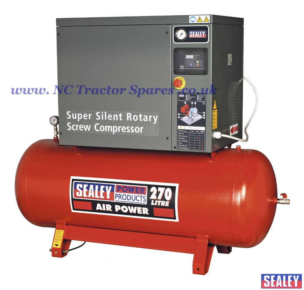 Screw Compressor 270ltr 10hp 3ph Low Noise